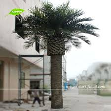 outdoor artificial coconut palm tree dubai with 18ft high