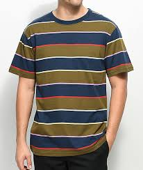 basic t shirts solid striped and v necks zumiez