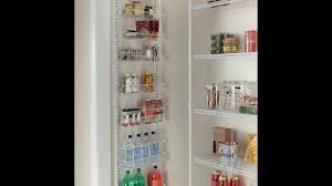 wall spice cabinet with doors gracelove over the door spice rack wall mount pantry kitchen 8 tier