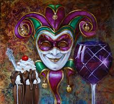 mardi gras joker arata paintings paintings mardi gras