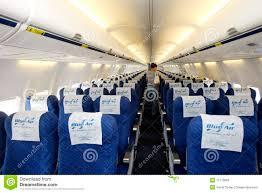 blue air airplane interior editorial stock photo image 17770883