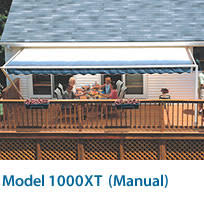 Motorized Awnings Reviews Reviews For Sunsetter Model 1000xt Manual Awning