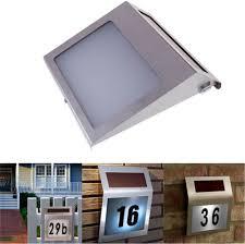 solar exterior house lights aliexpress com buy solar outdoor lighting doorplate lamp light