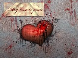 quotes heart bleeding pain of love hurts quotes images for sad heart