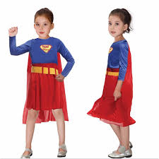 Superman Halloween Costume Toddler Popular Halloween Costume Girls Superman Buy Cheap Halloween