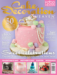 Our Tea and Macarons Rabbit Cake on The Cover of Cake Decoration