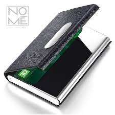 Bling Business Card Holder Amazon Com Nomē Slim Business Credit Card Holder Minimalist