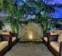 Palm Tree Patio Umbrella Palm Tree Home Decor Exterior Mediterranean With Covered Patio