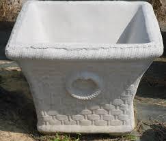 concrete planters patio planters outdoor planters the cement