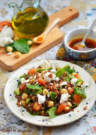 smoky paprika quinoa and spinach salad with smoked paprika vinaigrette chef in