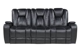 Black Livingroom Furniture The Vega Black Living Room Collection Mor Furniture For Less