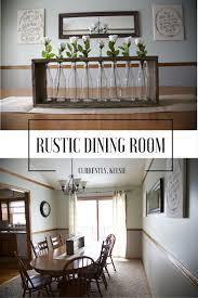 rustic dining rooms rustic dining room reveal currently kelsie
