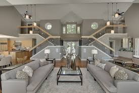 gray beige paint colors entry traditional with dark stained wood