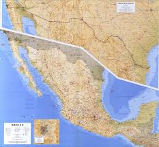 Map Of Mexico by Of Mexico 1993