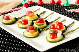 christmas snack plate ideas decorating of party