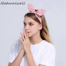 pre wrap headband naturalwell headband hair accessory headwrap women bow