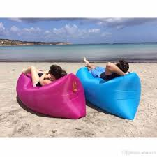 Outdoor Waterproof Furniture by Outdoor Inflatable Air Sofa Waterproof Air Filled Portable Lay Bag