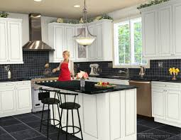 Virtual Design A Kitchen In Island Featuring Undermount Sinks Granite Benchtops Design