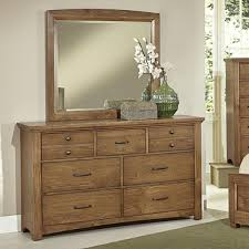 Bassett Bedroom Furniture Bassett Transitions Dresser 7 Drawers With Mirror