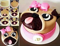 the 25 best pug cake ideas on pinterest pug birthday cake pug