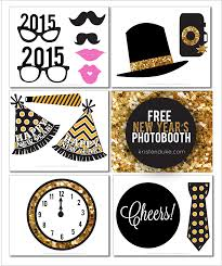new years eve photo booth props printable photo booth props for