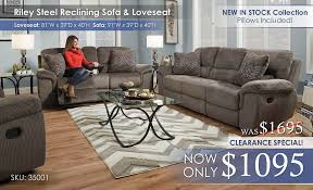Sofa Loveseat Recliner Sets Reclining Living Sets U2013 All American Mattress U0026 Furniture