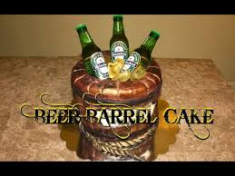 how to make a beer barrel cake with loop control youtube for