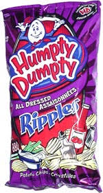 ripples chips humpty dumpty all dressed ripples potato chips