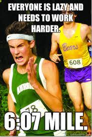 Runner Meme - five types of runners fueledbylolz