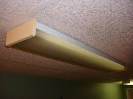 Cover Fluorescent Ceiling Lights Difficult To Remove Lens From Fluorescent Fixture Doityourself