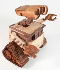 10 cool woodwork creations sized robots wood tanks and more
