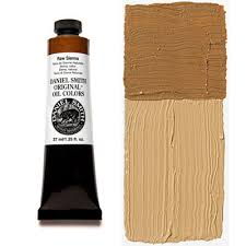 raw sienna 37ml tube u2013 daniel smith original oil color
