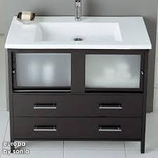bathroom vanity with sink a contemporary shape with a big sink could store cleaning brush and