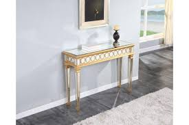 Sofa Table Desk by Sofa Tables Tv Stands Audrey Mirrored Console Table In Gold