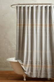 Rugby Stripe Curtains by Sparkle Shower Curtain Curtain Sequin Shower Curtain Gray Ticking