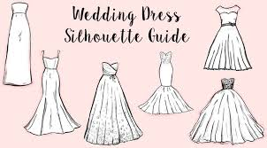 wedding dress guide a guide to 6 basic wedding dress silhouettes the best wedding