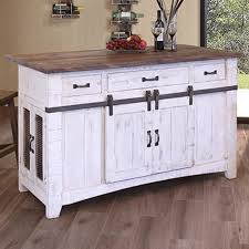 antique white kitchen island pueblo 3 drawer kitchen island in antique white nebraska