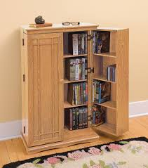 Large Storage Cabinets Storage Cabinets Ideas Dvd Storage Cabinet With Sliding Doors