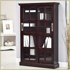 bookcase with sliding glass doors simple on sliding closet doors