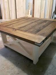 white farmhouse coffee table diy rustic coffee table lynn pinterest rustic coffee tables