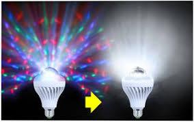 Disco Light Bulb Led Disco Light Bulb Kam Cpc