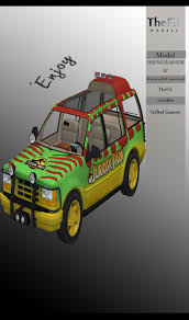 jurassic park tour car jurassic park the game visitors jeep by oo fil oo on deviantart