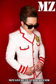 s 5xl new men fashion slim white suits nightclub men singers dj
