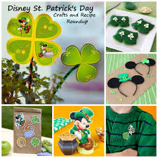 disney st patrick u0027s day crafts and recipe roundup