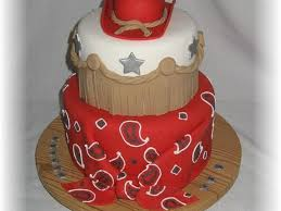 red bandana and cowboy hat cakecentral com