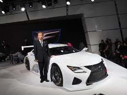 lexus rc gt3 highlights from 2015 canadian international auto show openroad