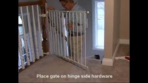 Best Stair Gate For Banisters Kidco Safeway Assembly And Installation Youtube