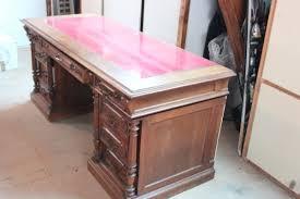 bureau ancien en bois vends très beau bureau ancien bois massif mes occasions com