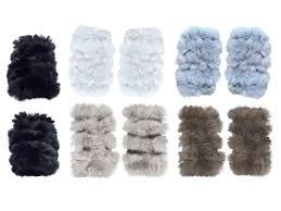 jocelyn rabbit fur fingerless mittens jocelyn ahalife