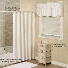 shell trellis matelasse scalloped window valance